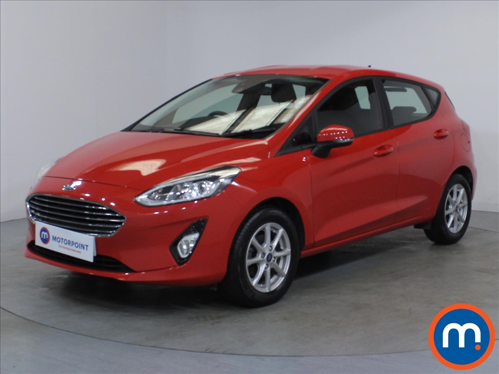 Ford Fiesta Zetec - Stock Number 1108233 Passenger side front corner
