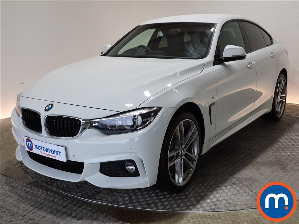 BMW 4 Series M Sport - Stock Number 1102446 Passenger side front corner