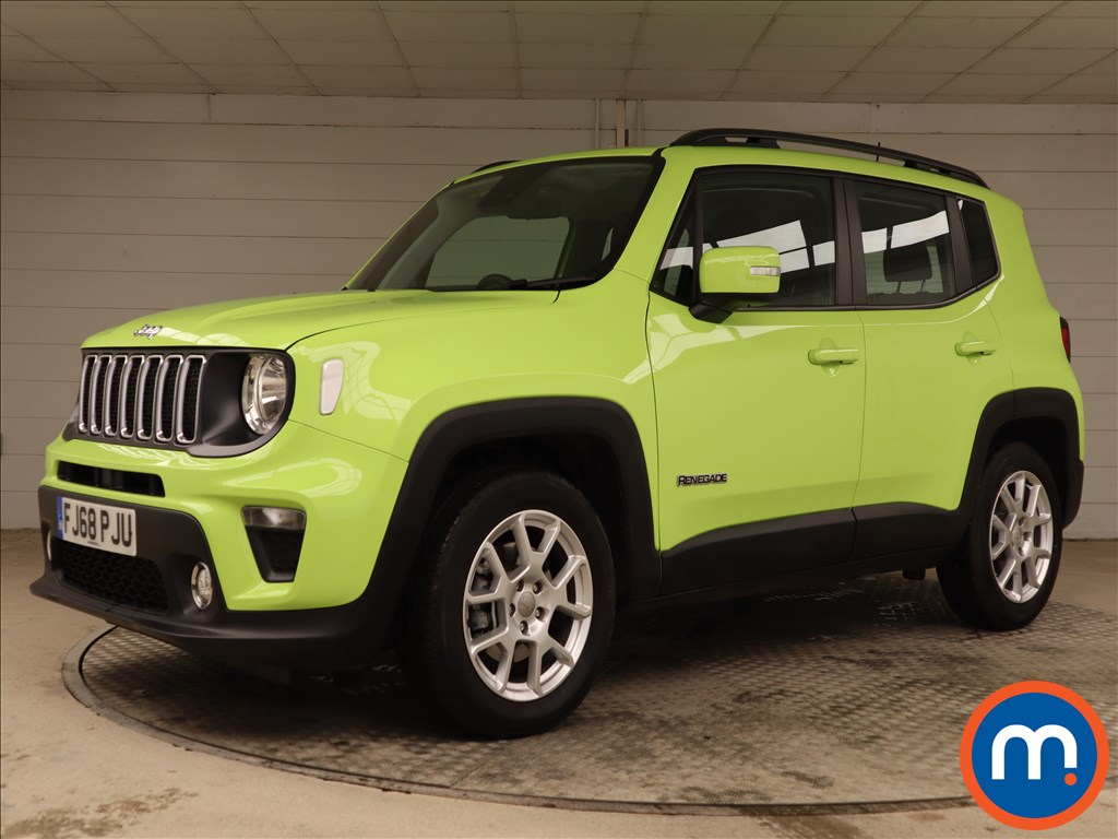 Jeep Renegade Longitude - Stock Number 1110215 Passenger side front corner