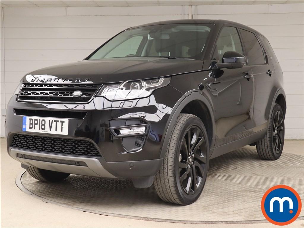 Land Rover Discovery Sport HSE Black - Stock Number 1105520 Passenger side front corner