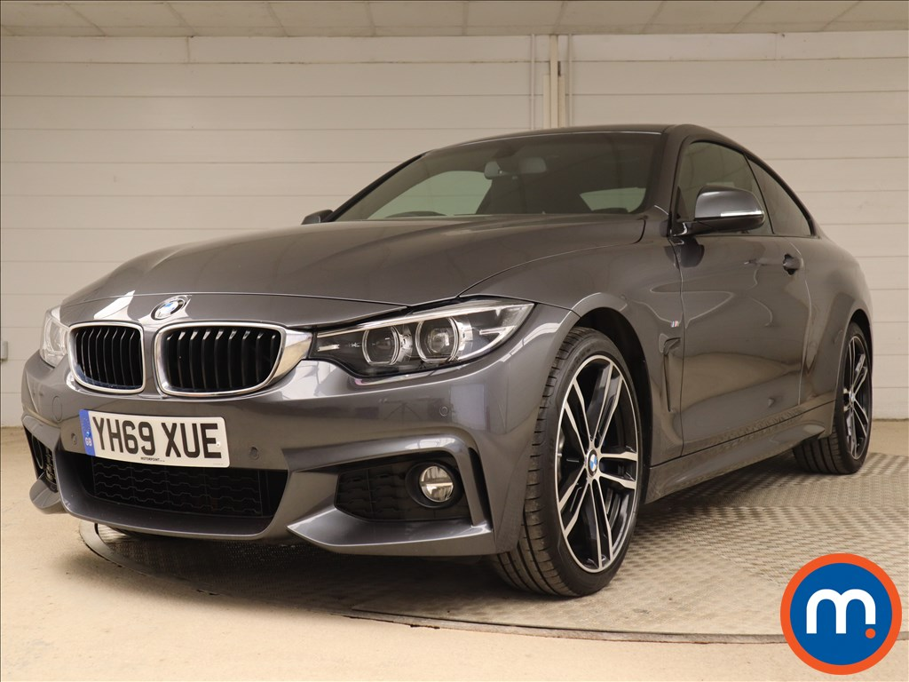 BMW 4 Series M Sport - Stock Number 1108045 Passenger side front corner