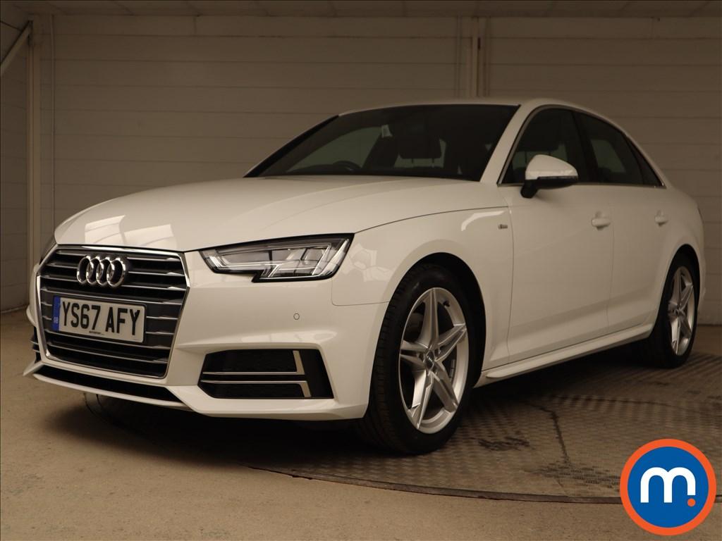 Audi A4 S Line - Stock Number 1105775 Passenger side front corner