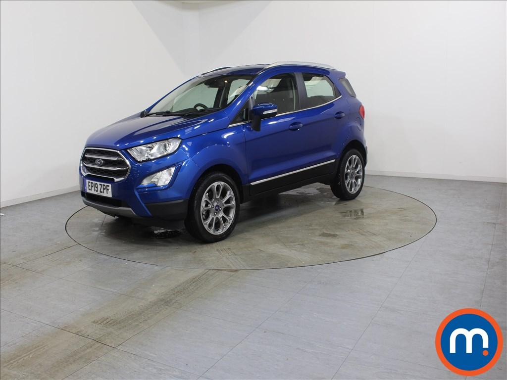 Ford Ecosport Titanium - Stock Number 1110421 Passenger side front corner