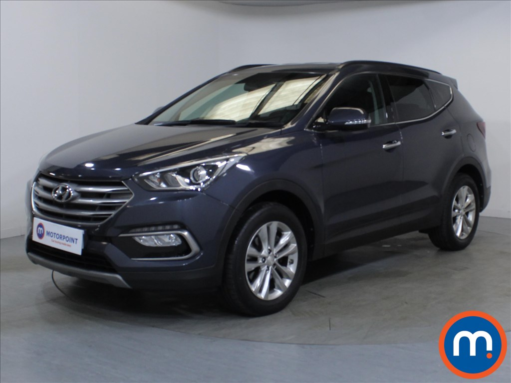 Hyundai Santa Fe Premium - Stock Number 1109920 Passenger side front corner