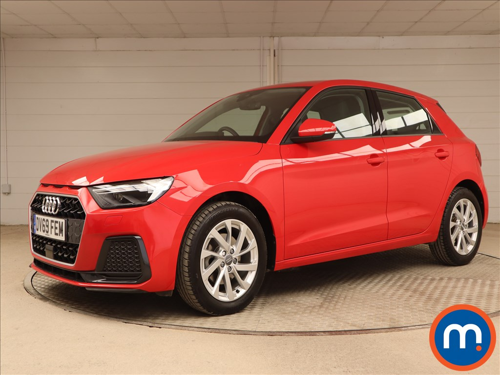 Audi A1 Sport - Stock Number 1106606 Passenger side front corner