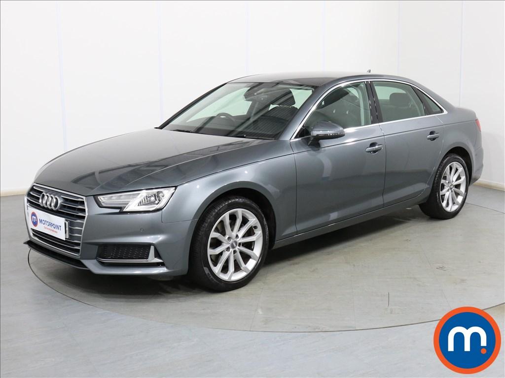 Audi A4 Sport - Stock Number 1105454 Passenger side front corner