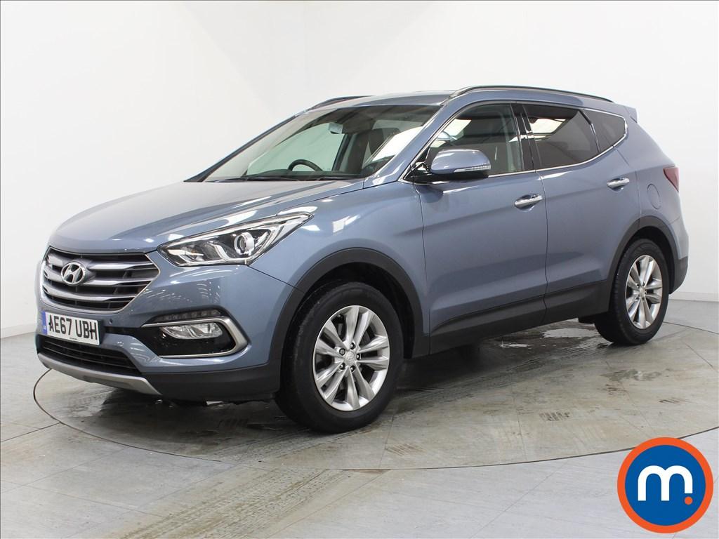 Hyundai Santa Fe Premium - Stock Number 1109091 Passenger side front corner
