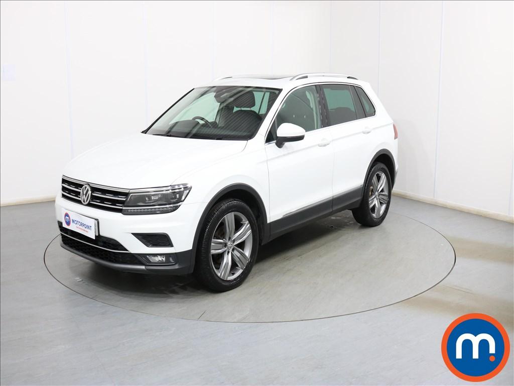 Volkswagen Tiguan SEL - Stock Number 1103281 Passenger side front corner