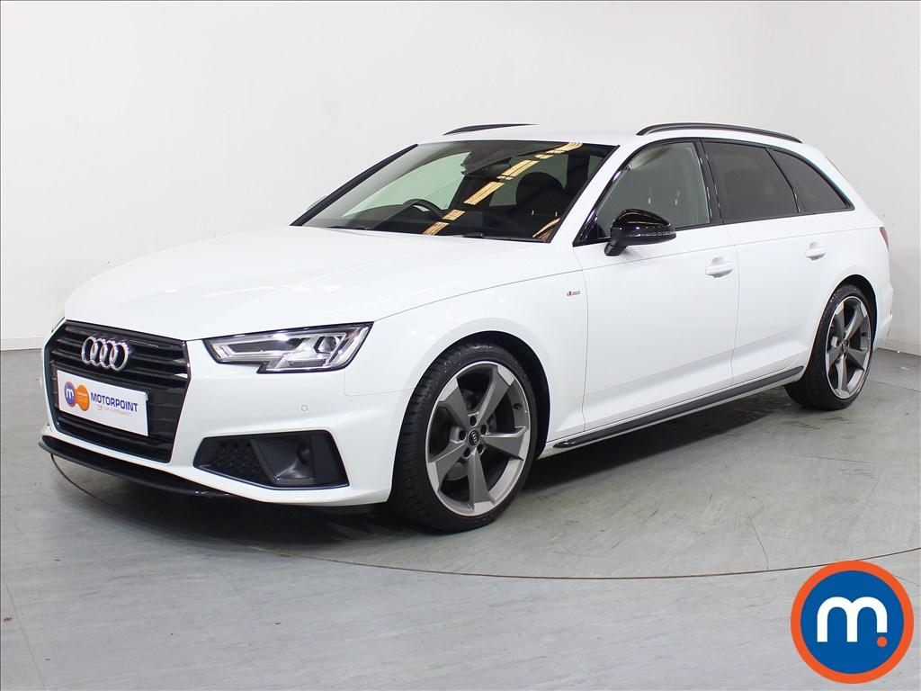 Audi A4 Black Edition - Stock Number 1109579 Passenger side front corner
