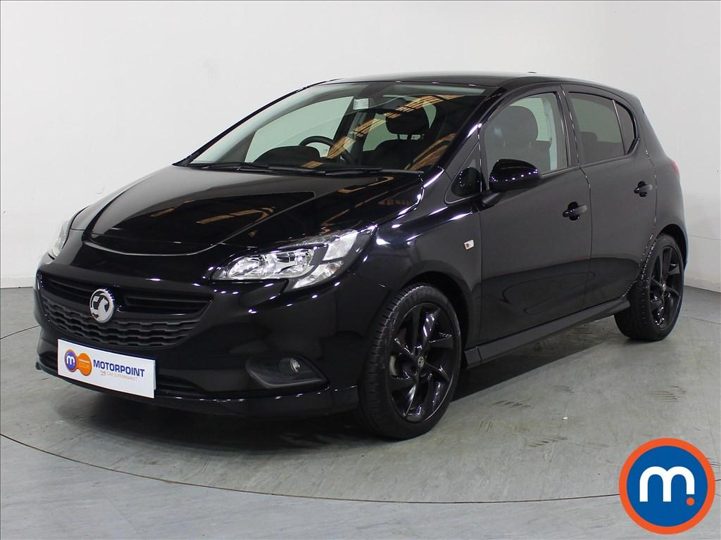 Vauxhall Corsa SRi Vx-line Nav Black - Stock Number 1110180 Passenger side front corner