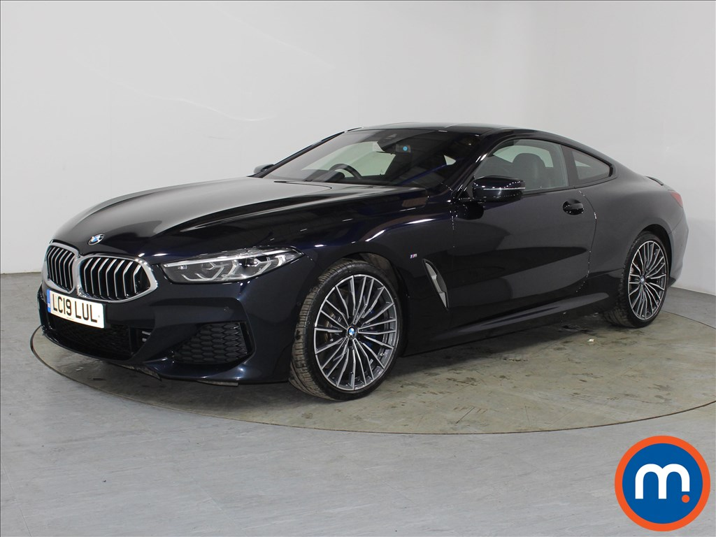 BMW 8 Series 840d xDrive 2dr Auto - Stock Number 1098838 Passenger side front corner