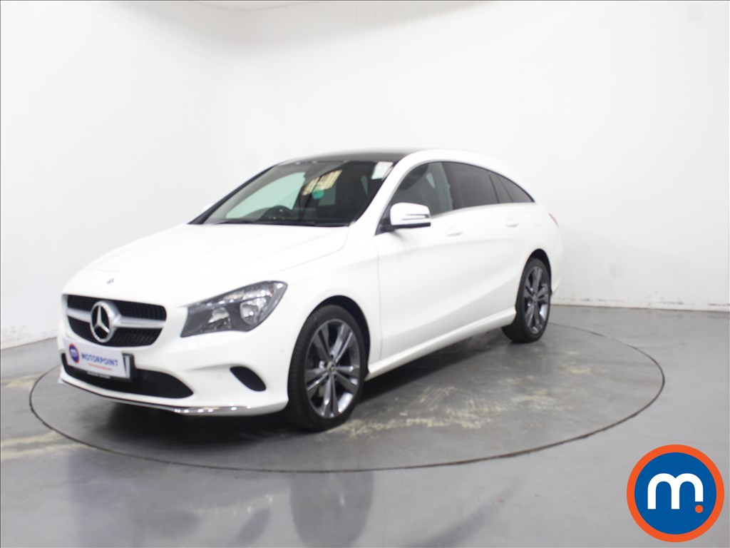 Mercedes-Benz Cla Class Sport - Stock Number 1108998 Passenger side front corner