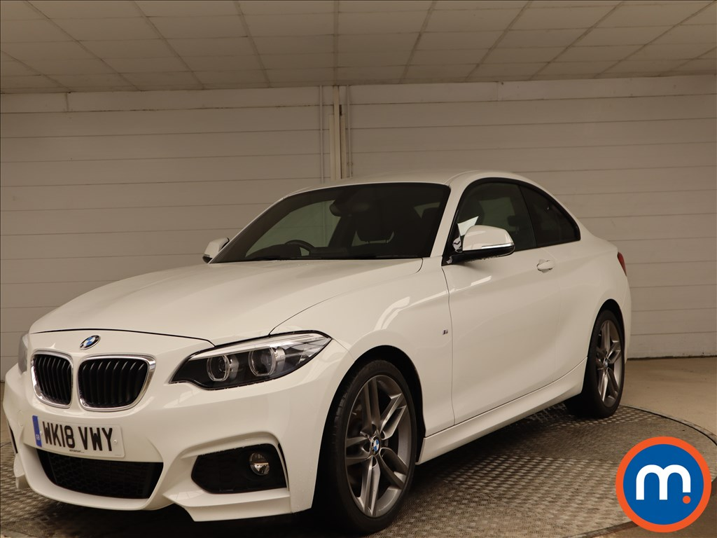 BMW 2 Series M Sport - Stock Number 1101195 Passenger side front corner