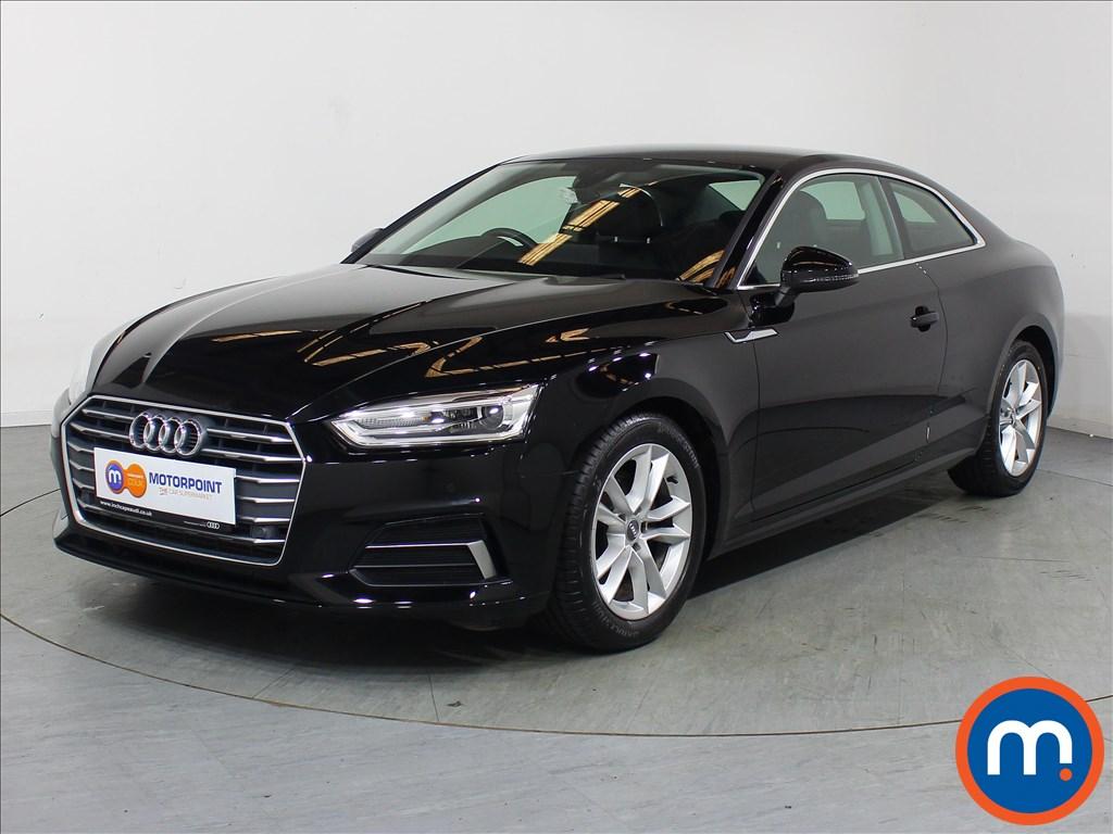 Audi A5 Sport - Stock Number 1109985 Passenger side front corner