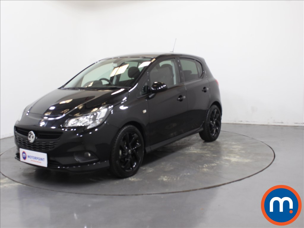 Vauxhall Corsa SRi Vx-line Nav Black - Stock Number 1110182 Passenger side front corner