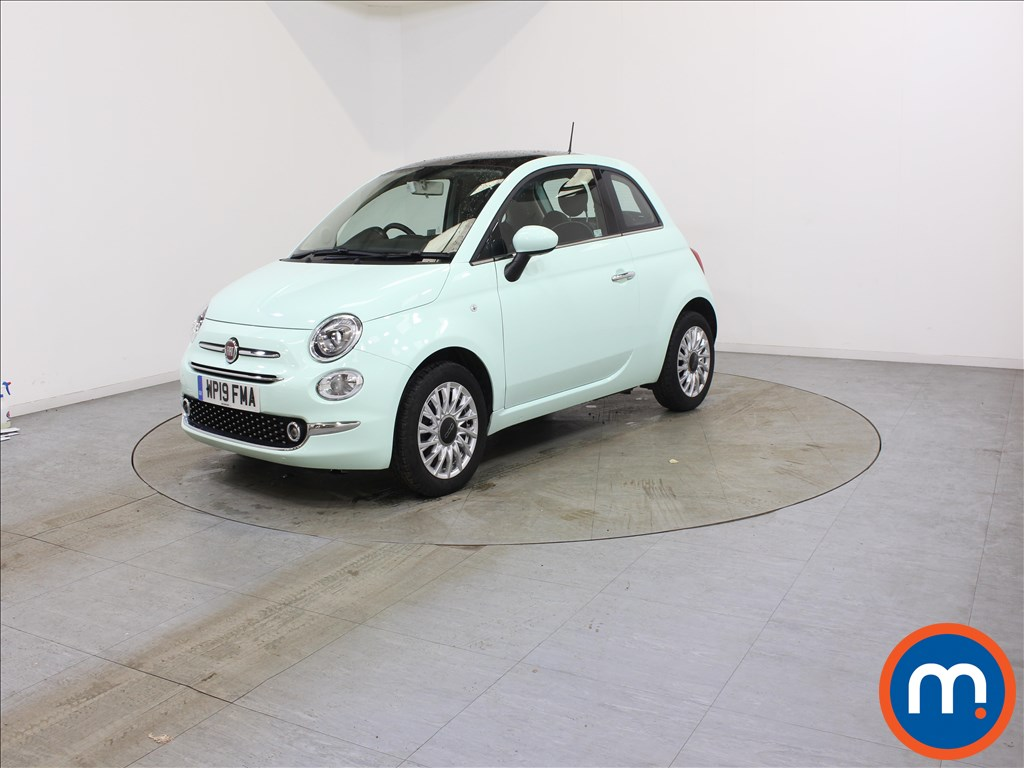 Fiat 500 Lounge - Stock Number 1109210 Passenger side front corner