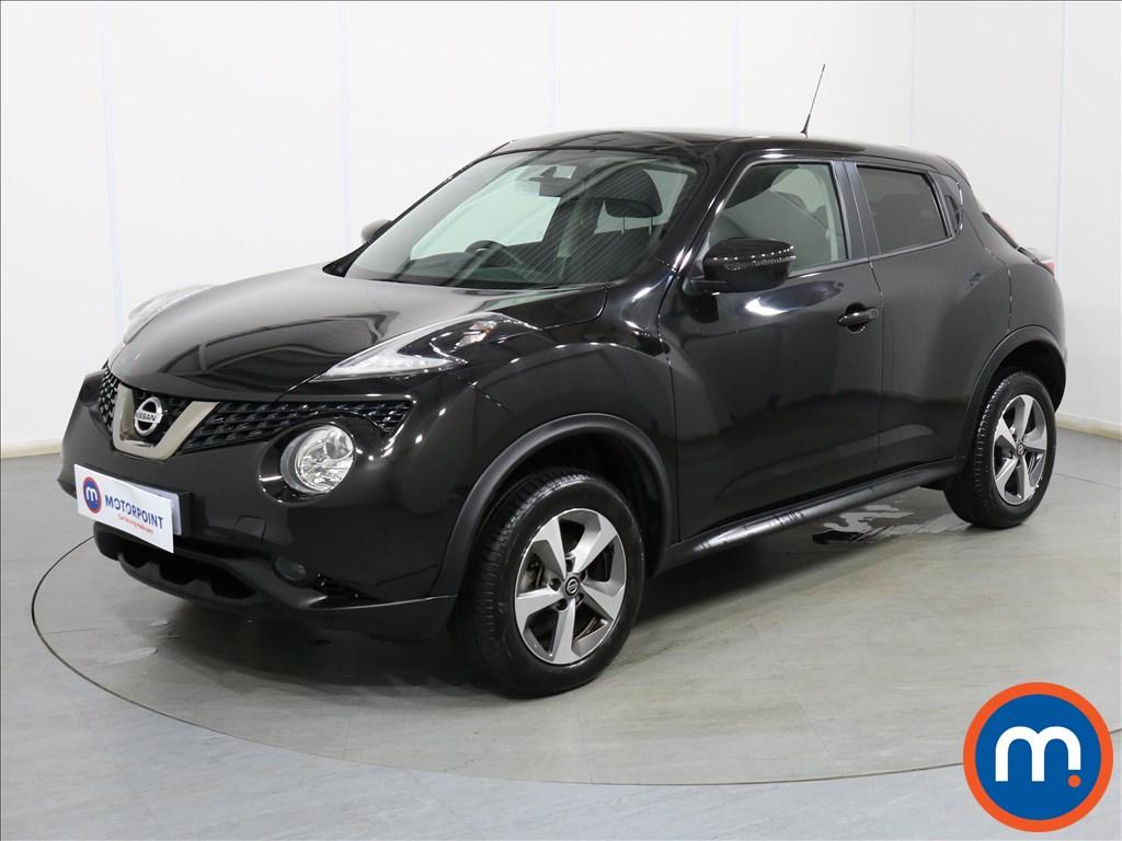 Nissan Juke Acenta - Stock Number 1110563 Passenger side front corner