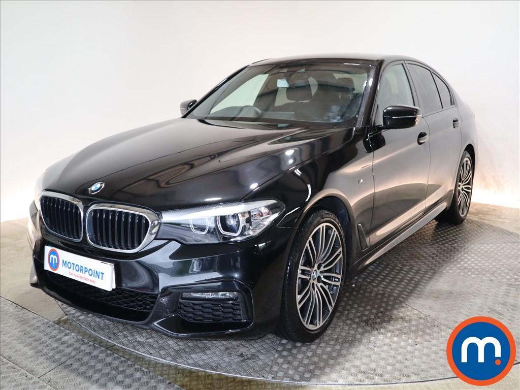 BMW 5 Series M Sport - Stock Number 1108056 Passenger side front corner