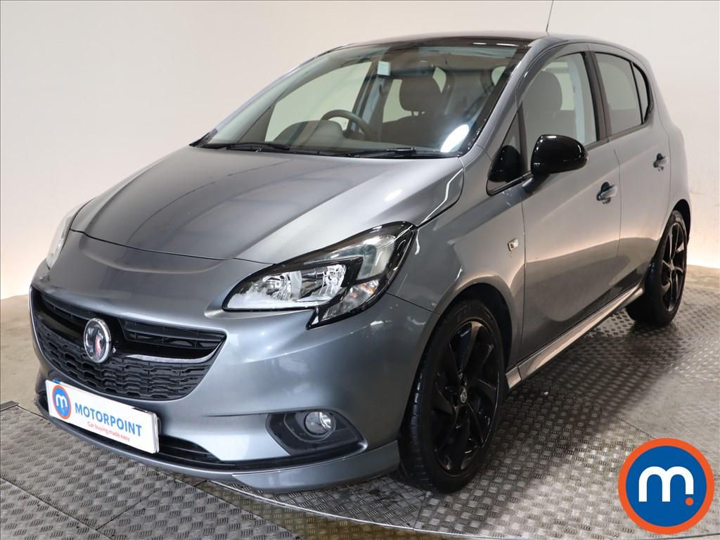 Vauxhall Corsa SRi Vx-line Nav Black - Stock Number 1110475 Passenger side front corner