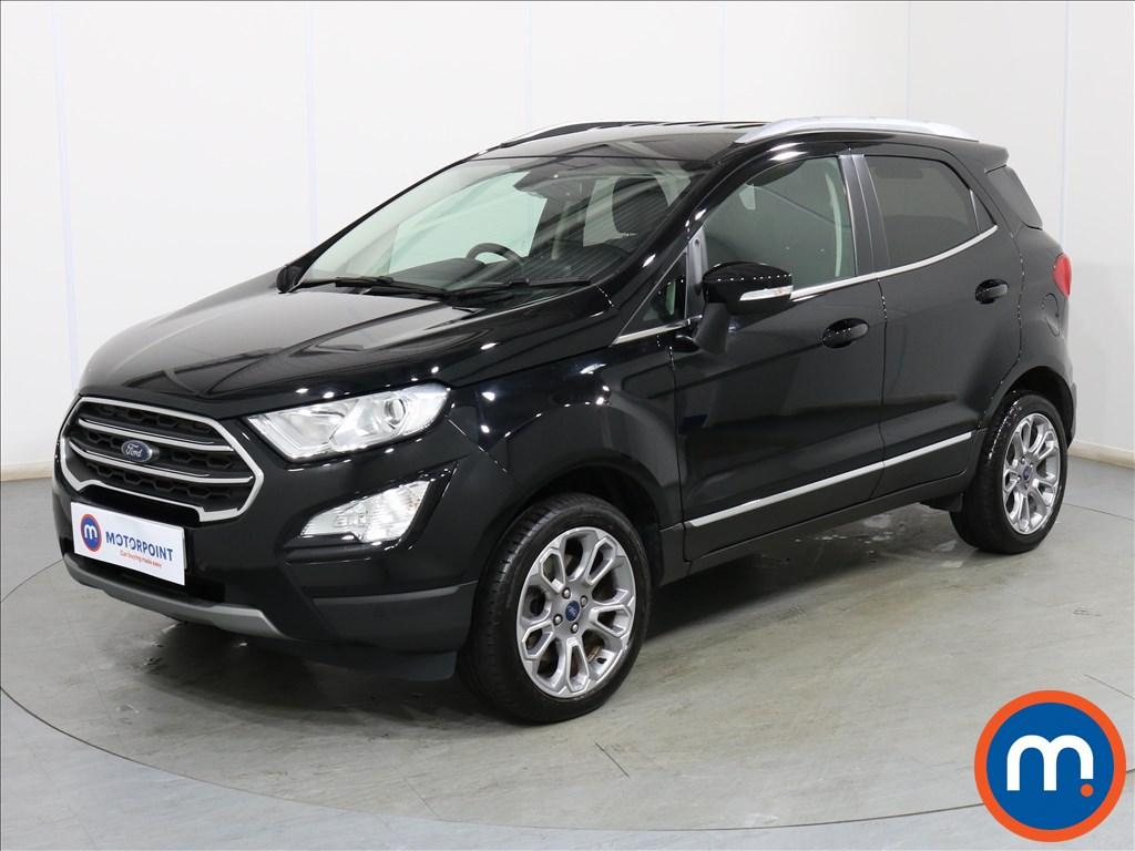 Ford Ecosport Titanium - Stock Number 1107166 Passenger side front corner
