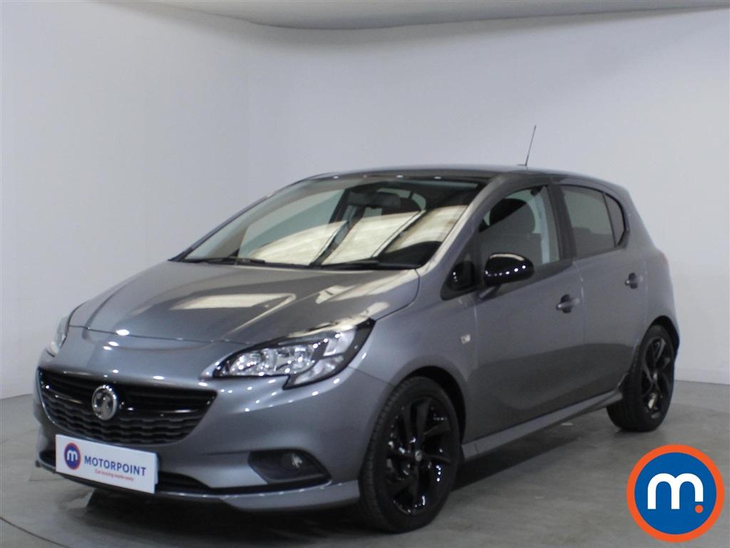 Vauxhall Corsa SRi Vx-line Nav Black - Stock Number 1110459 Passenger side front corner
