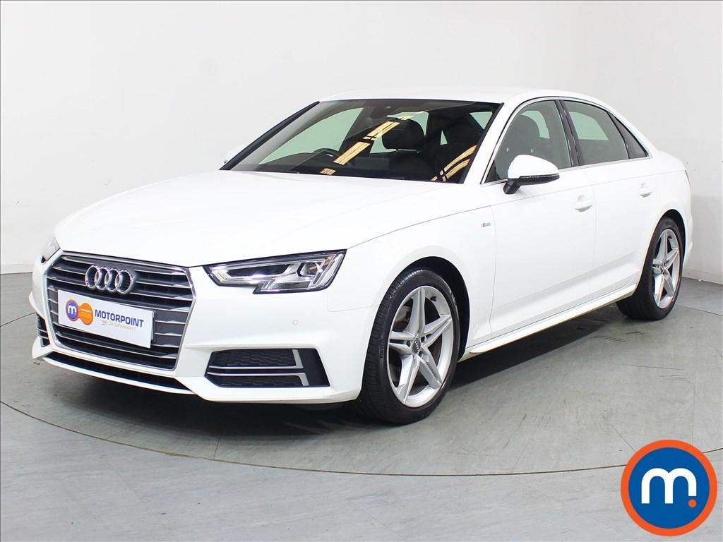 Audi A4 S Line - Stock Number 1111464 Passenger side front corner