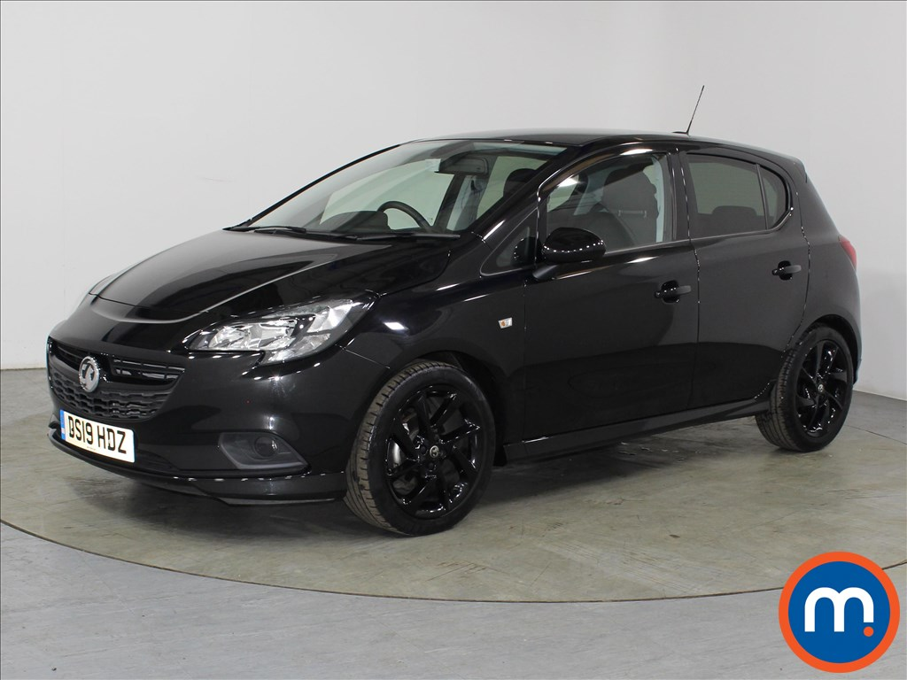 Vauxhall Corsa SRi Vx-line Nav Black - Stock Number 1109777 Passenger side front corner