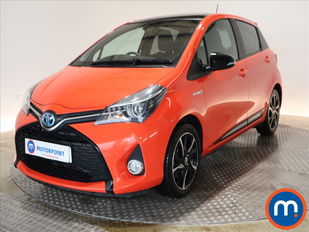 Toyota Yaris Orange Edition - Stock Number 1106777 Passenger side front corner