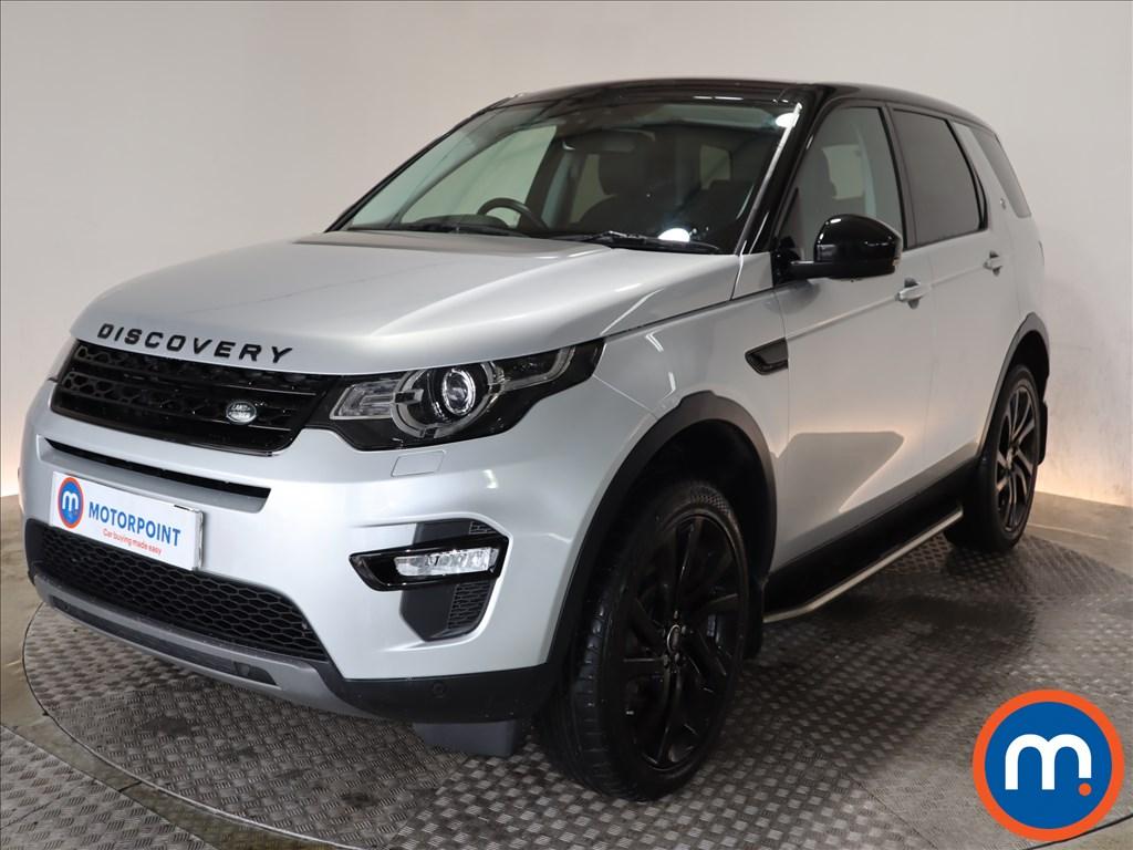 Land Rover Discovery Sport HSE Black - Stock Number 1106682 Passenger side front corner