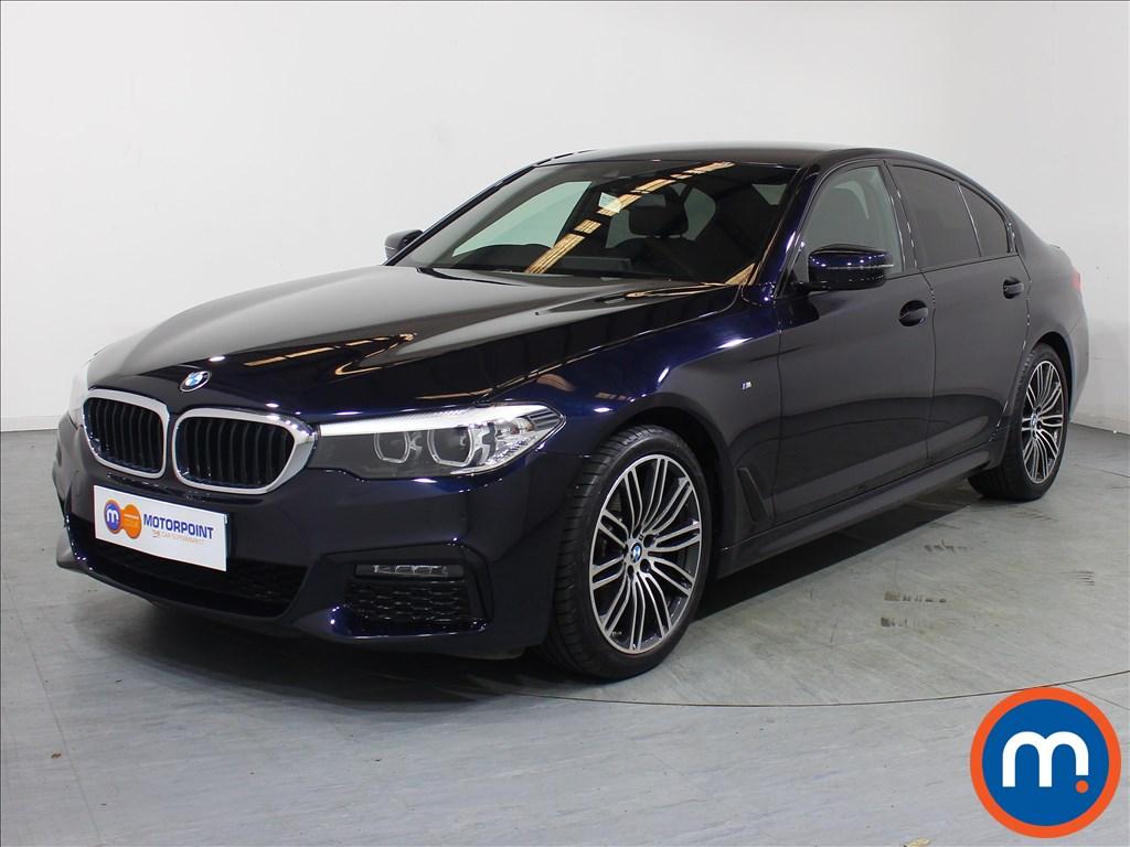 BMW 5 Series M Sport - Stock Number 1107985 Passenger side front corner