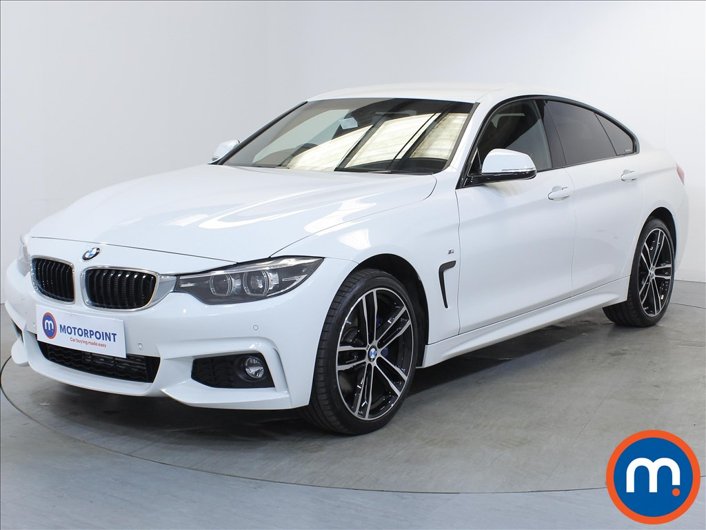 BMW 4 Series M Sport - Stock Number 1106815 Passenger side front corner