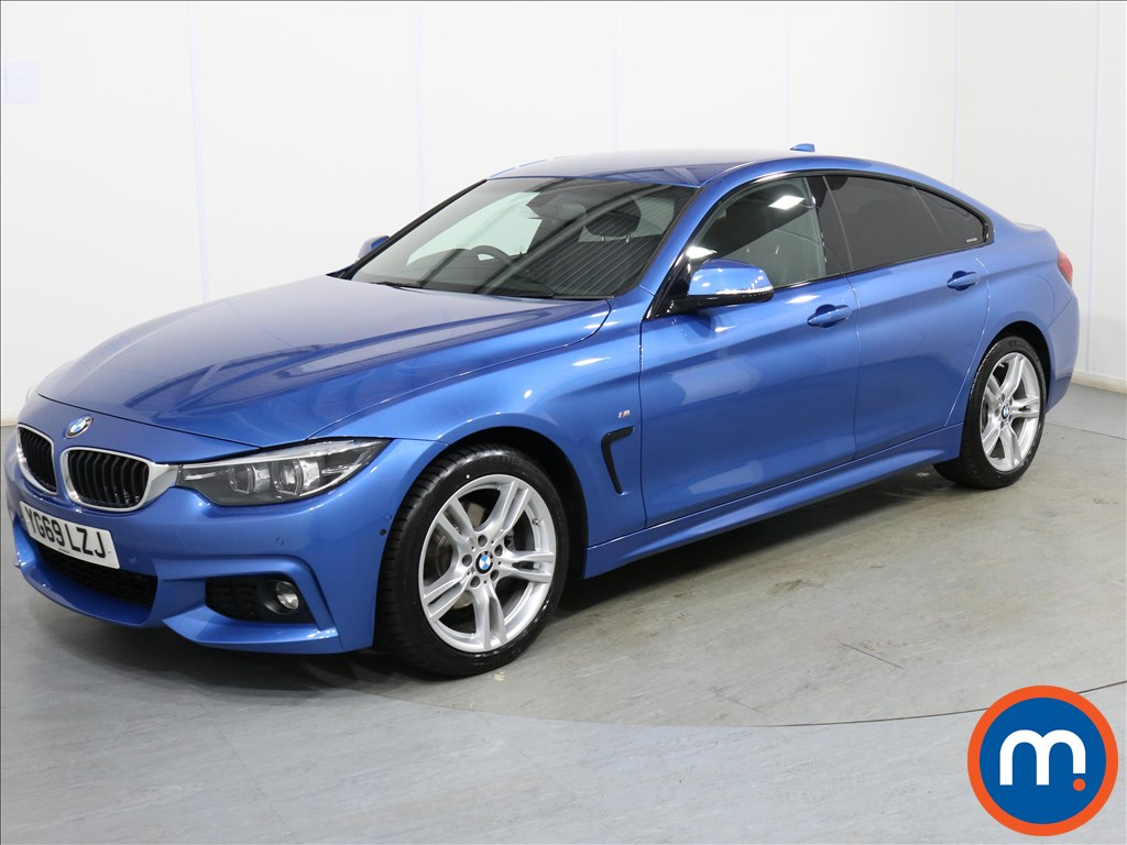 BMW 4 Series M Sport - Stock Number 1106823 Passenger side front corner