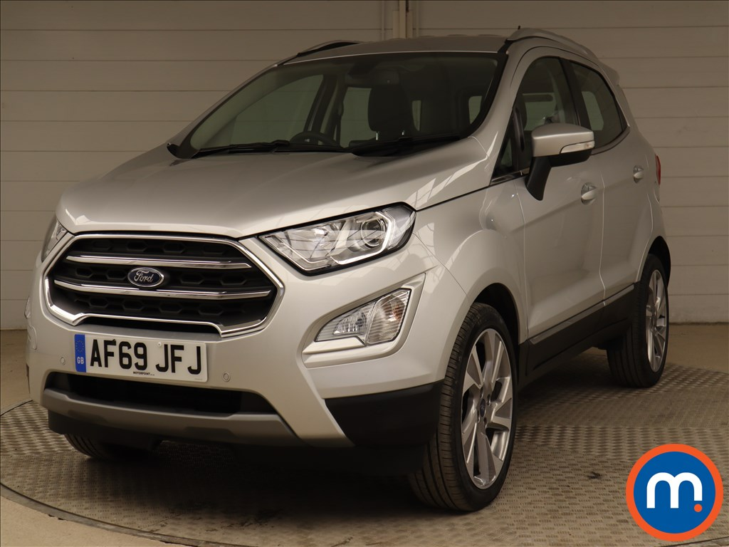 Ford Ecosport Titanium - Stock Number 1110381 Passenger side front corner