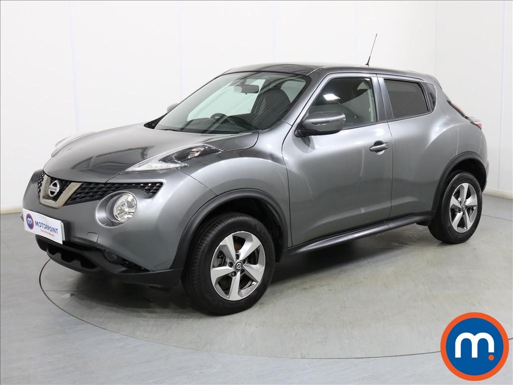 Nissan Juke Acenta - Stock Number 1110557 Passenger side front corner