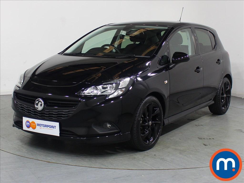 Vauxhall Corsa SRi Vx-line Nav Black - Stock Number 1110470 Passenger side front corner