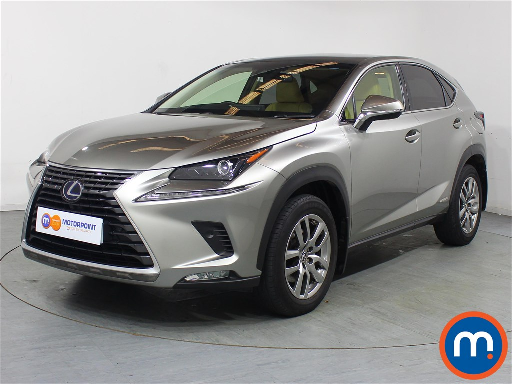 Lexus NX Luxury - Stock Number 1109866 Passenger side front corner