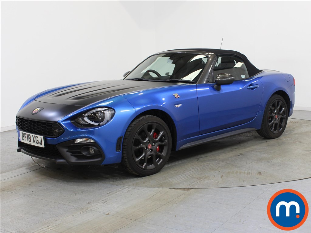 Abarth 124 Spider 1.4 T MultiAir 2dr Auto - Stock Number 1110822 Passenger side front corner