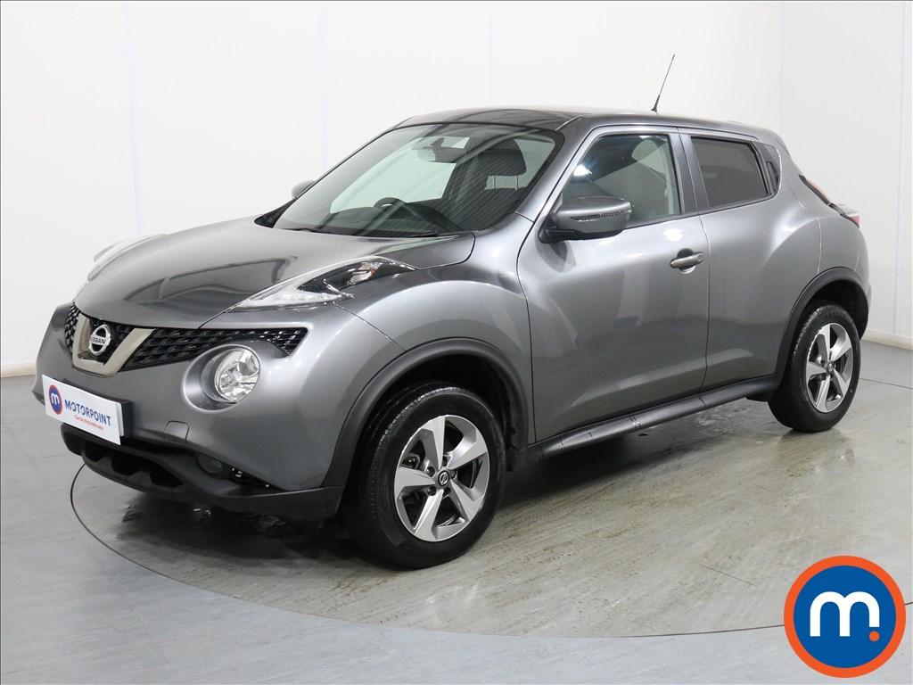 Nissan Juke Acenta - Stock Number 1110536 Passenger side front corner