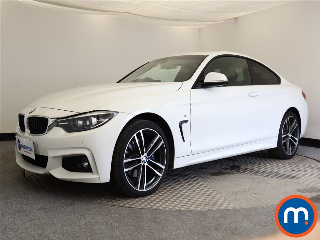 BMW 4 Series M Sport - Stock Number 1108041 Passenger side front corner