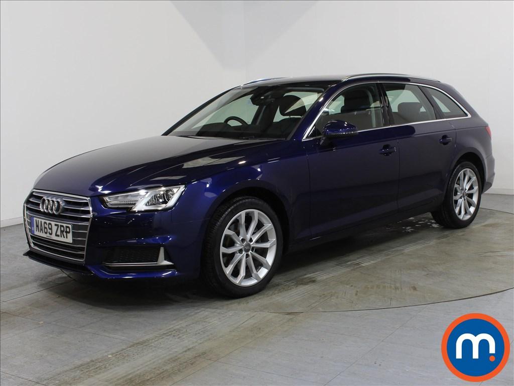 Audi A4 Sport - Stock Number 1113478 Passenger side front corner