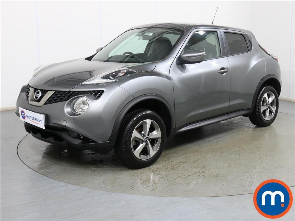 Nissan Juke Acenta - Stock Number 1110577 Passenger side front corner