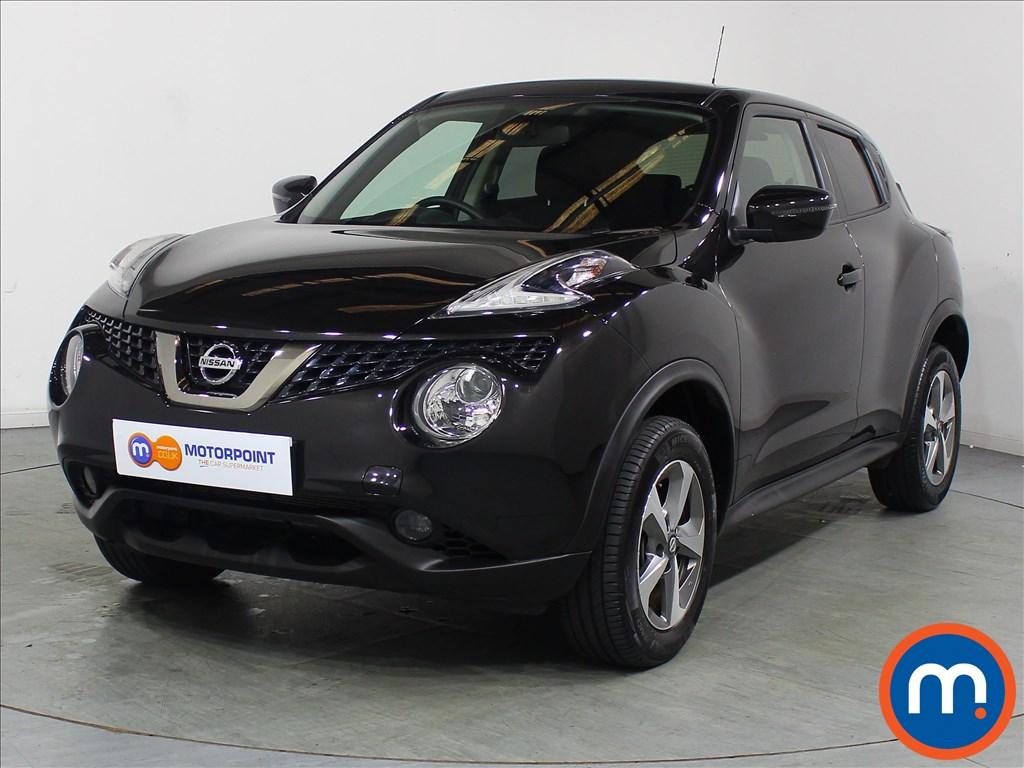 Nissan Juke Acenta - Stock Number 1110559 Passenger side front corner
