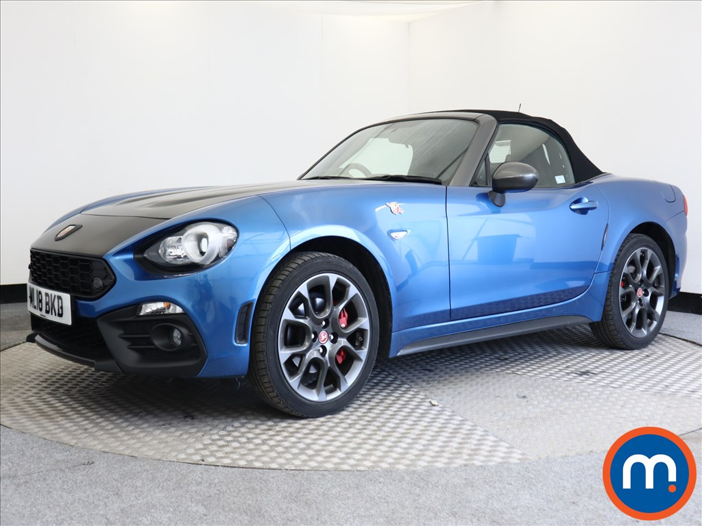 Abarth 124 Spider 1.4 T MultiAir 2dr Auto - Stock Number 1110838 Passenger side front corner