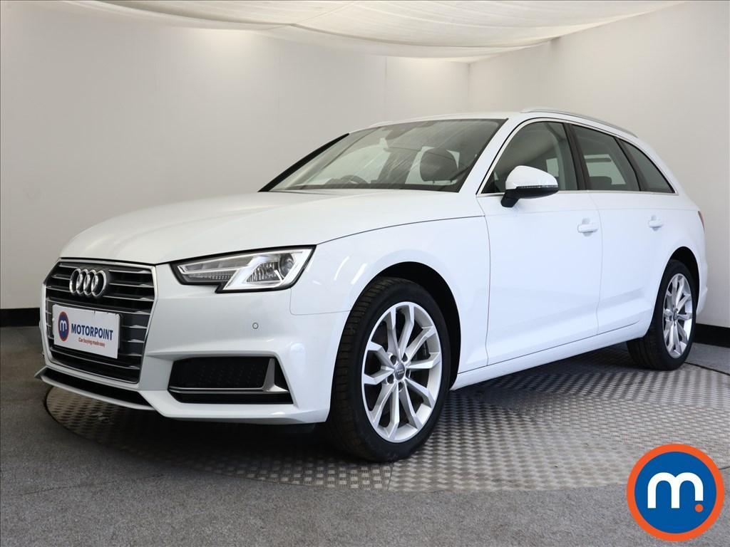 Audi A4 Sport - Stock Number 1113480 Passenger side front corner