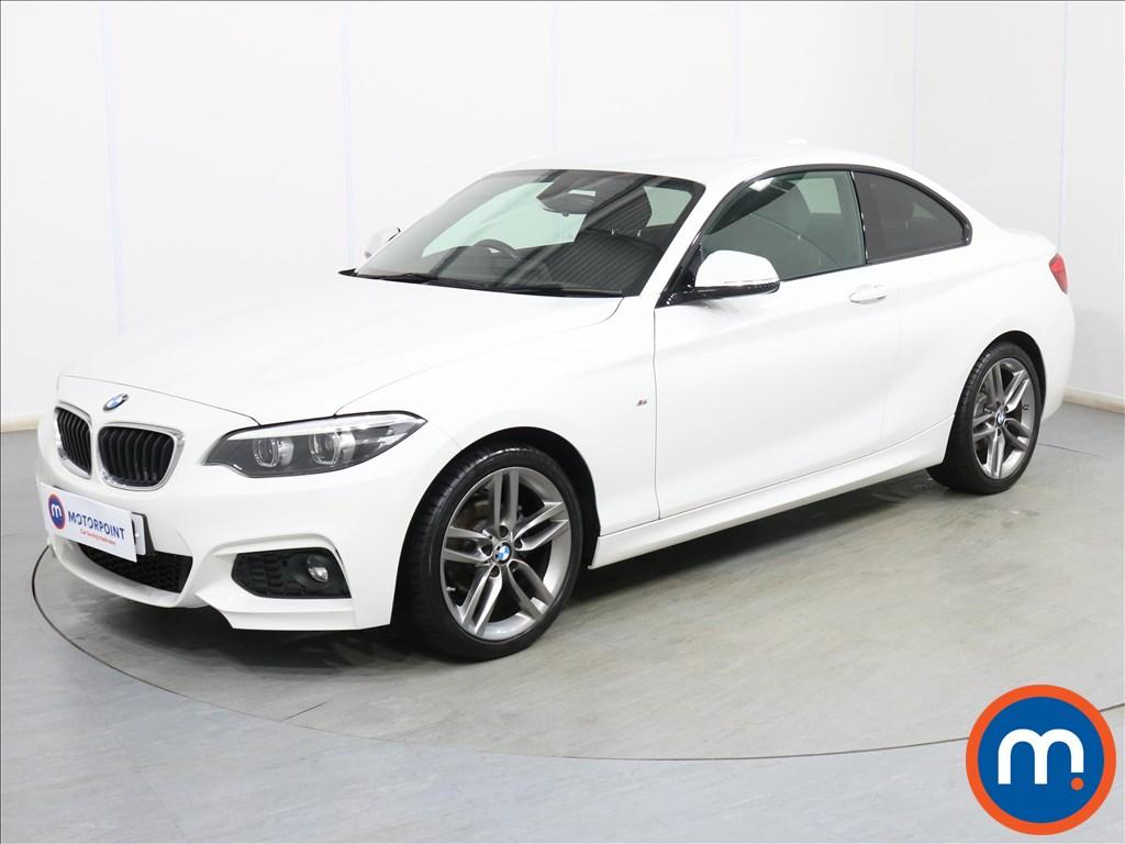 BMW 2 Series M Sport - Stock Number 1112001 Passenger side front corner