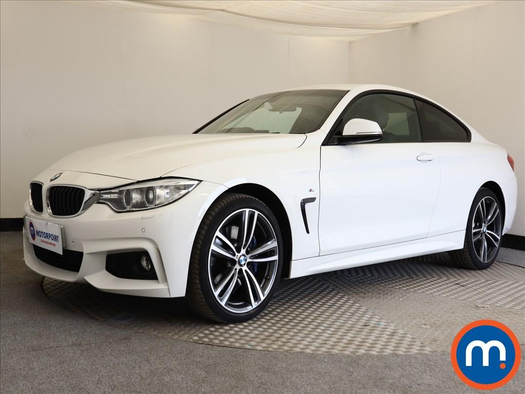 BMW 4 Series M Sport - Stock Number 1113335 Passenger side front corner