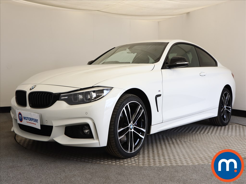 BMW 4 Series M Sport - Stock Number 1112287 Passenger side front corner