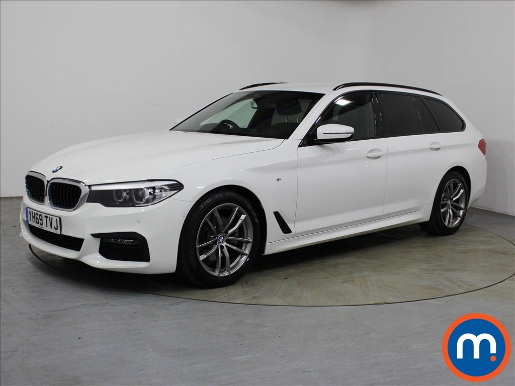 BMW 5 Series M Sport - Stock Number 1110893 Passenger side front corner