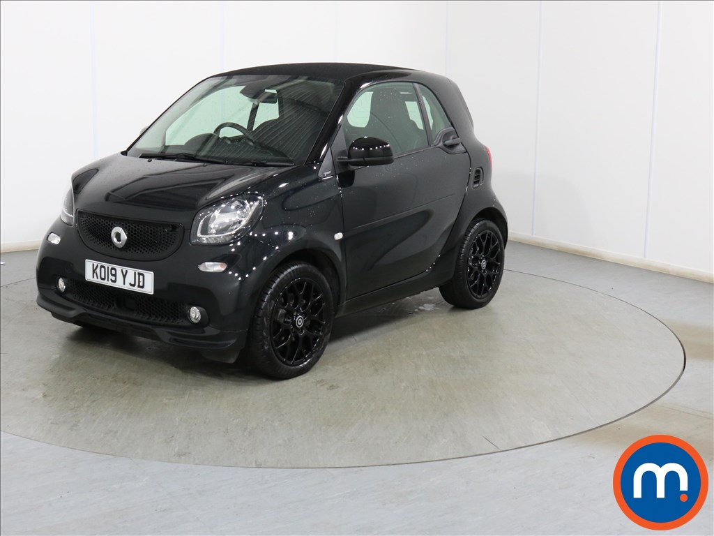 Smart Fortwo Coupe Urban Shadow Edition - Stock Number 1107840 Passenger side front corner