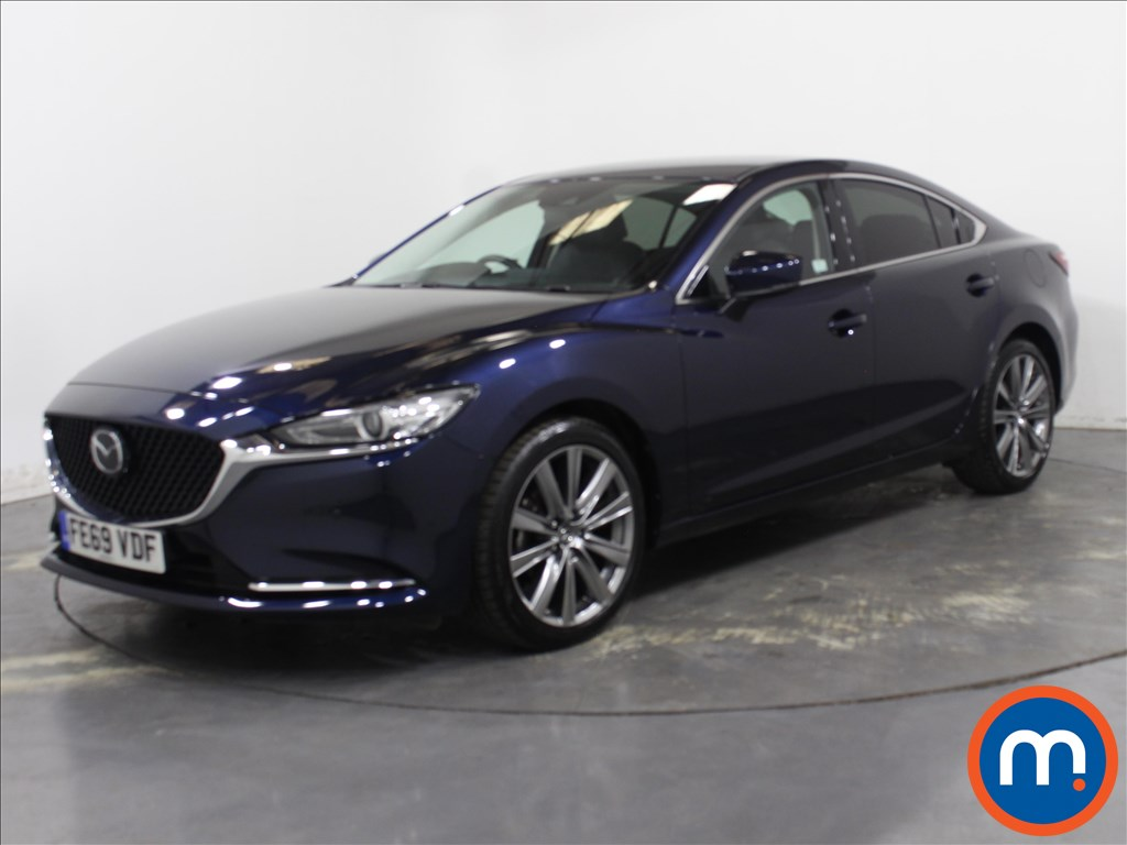 Mazda 6 Sport Nav-Plus - Stock Number 1111146 Passenger side front corner